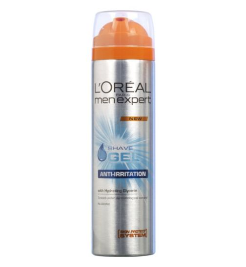 L'Oreal Men Expert Anti-Irritation Shave Gel 200ml