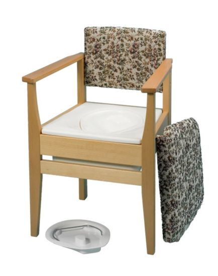 Homecraft Deluxe Tapestry Commode