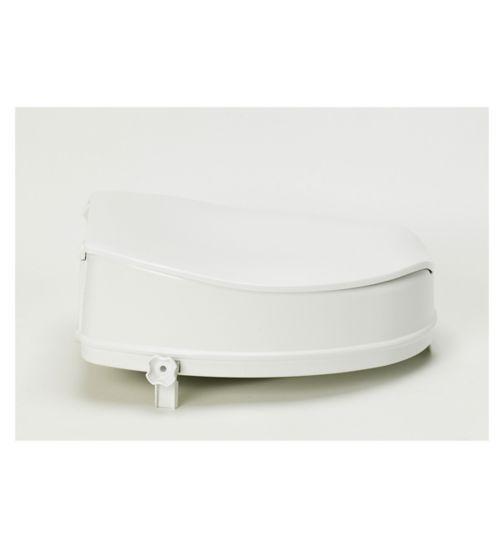 <p>Homecraft Savanah Raised Toilet Seat with Lid - 10cm</p>
