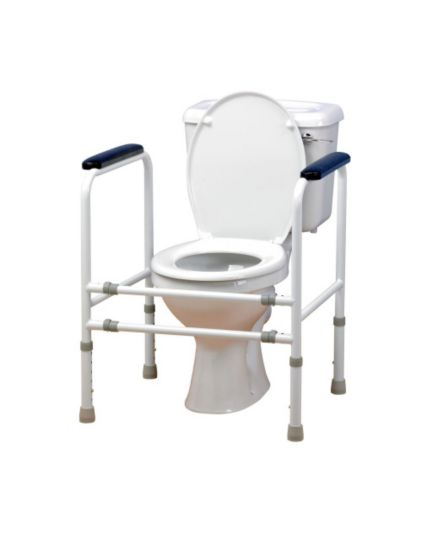 <p>Homecraft Adjustable&nbsp;Steel Toilet Surround </p>