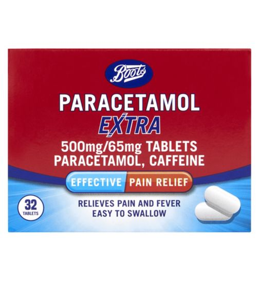 Boots Pharmaceuticals Paracetamol Extra Tablets (32)