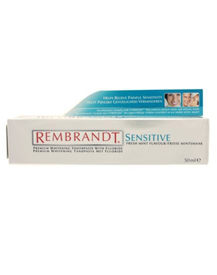 <p>Rembrandt Complete Whitening Mint Toothpaste 50 ml<br />&nbsp;</p>
