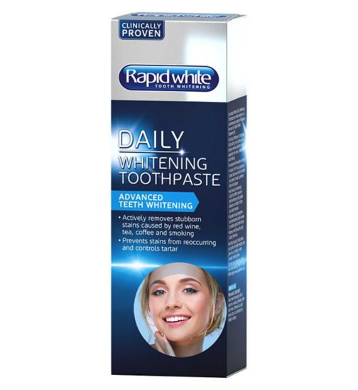 Rapid White Daily Whitening Toothpaste 100ml