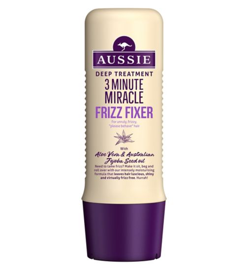 Aussie 3 Minute Miracle Deep Hair Treatment Frizz Remedy 250ml