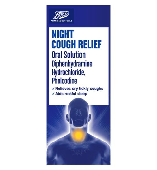 Boots Pharmaceuticals Night Cough Relief - 150ml