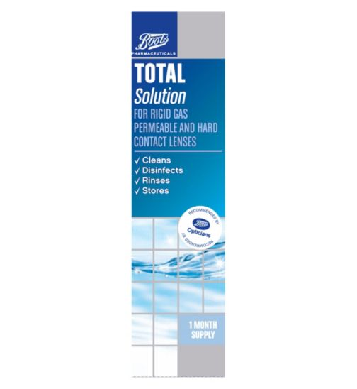 Boots Pharmaceuticals Total Solution (1 months supply) - 250 ml