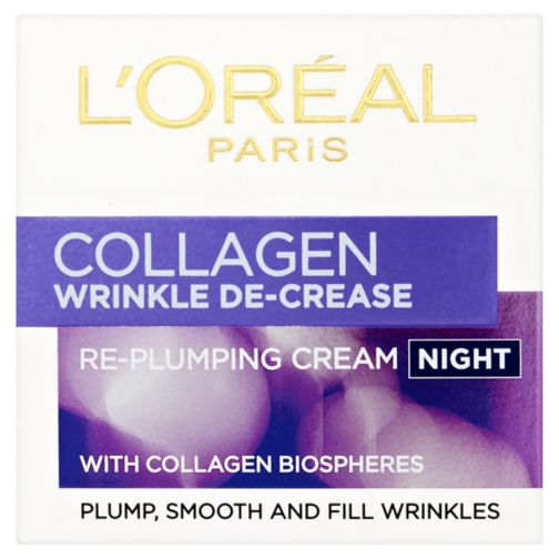 L'Oreal Paris Wrinkle Decrease Collagen Replumping Night Cream