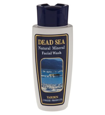 dead sea natural mineral shampoo