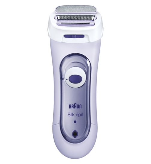Braun Silk & Soft 5560 Rechargeable Electric Lady Shaver