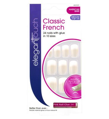 Elegant Touch French Nails