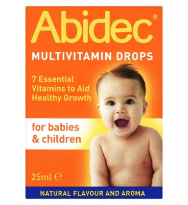 Abidec Multivitamin Drops For Babies Children 25ml