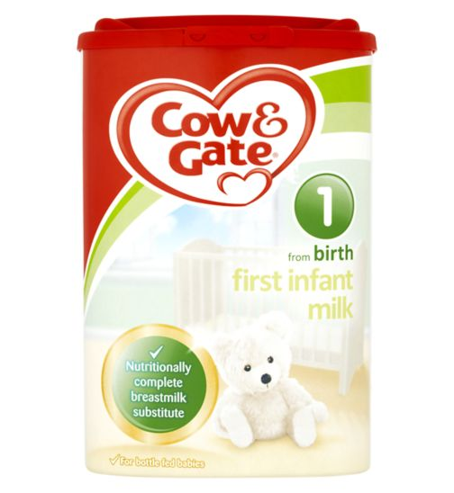 Cow & Gate First Infant Milk from Newborn Stage 1 900g