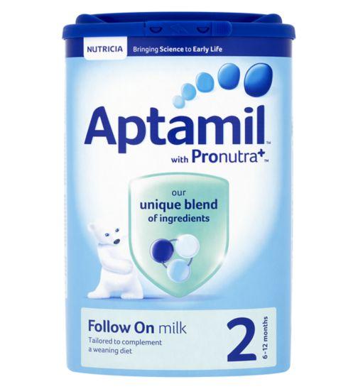 Aptamil Follow On Milk 2 from 6 Months 900g