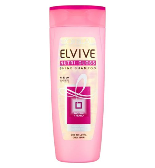 L'Oréal Elvive Nutri-Gloss Shine Shampoo 400ml