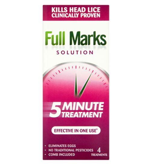 Full Marks Solution 5 Minute Treatment 200ml