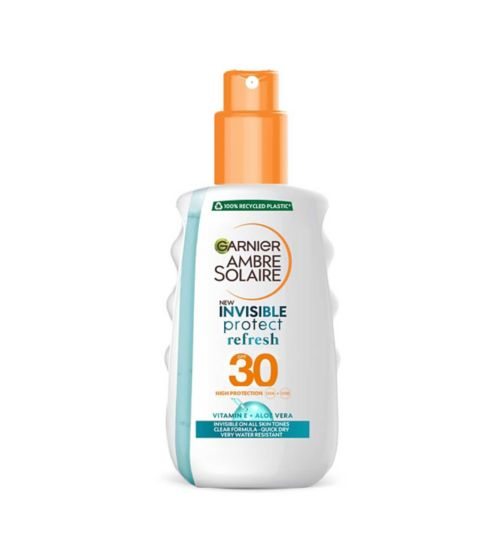 Ambre Solaire Clear Protect Sun Cream Spray SPF30 200ml