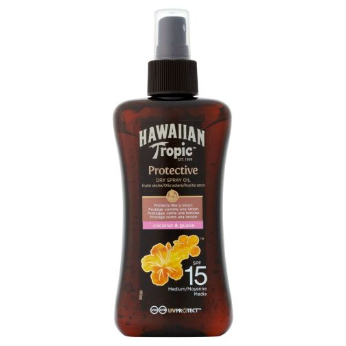 Hawaiian Tropic Spray Oil SPF 15 200ml