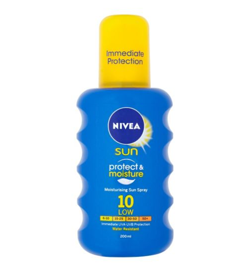Nivea Sun Spray SPF10 200ml