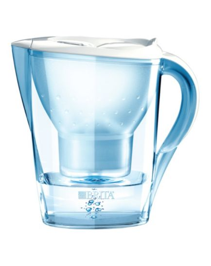 BRITA Fill & Enjoy Marella Cool White Water Filter Jug - 2.4 L