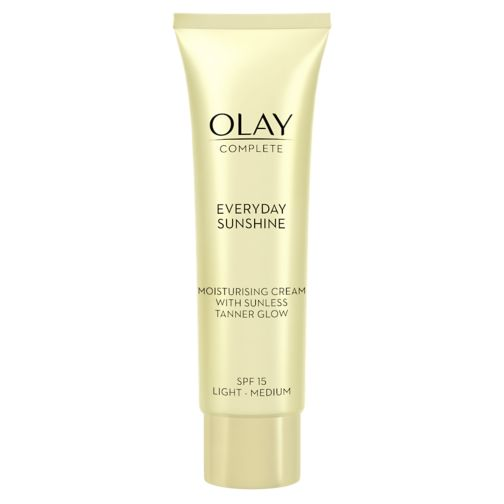 Olay Complete Everyday Sunshine Moisturiser Cream with sunless tanner SPF15 Light 50ml