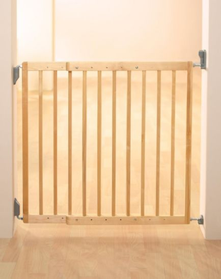 Lindam Extending Wooden Baby Gate
