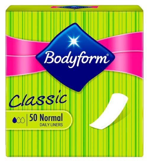 Bodyform  Pantyliners Classic 50