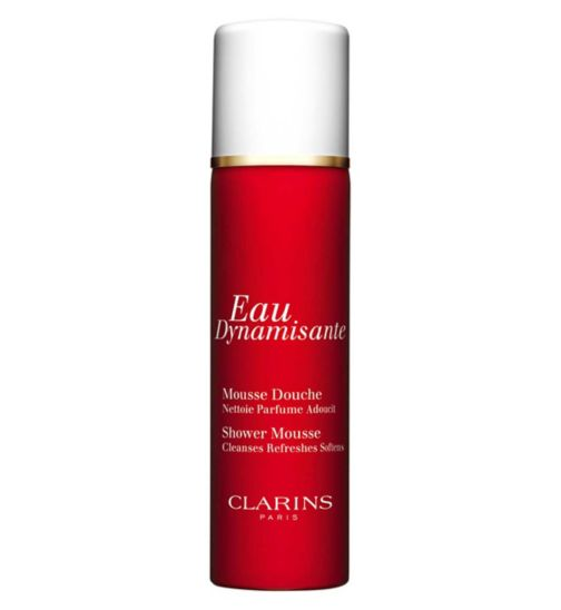 <p>Clarins Eau Dynamisante Fragranced Gentle Shower Mousse 150ml</p>