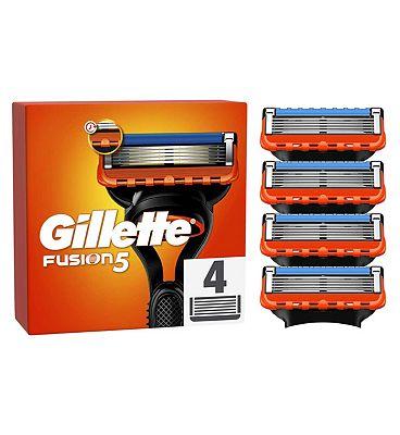 Gillette Fusion Razor Blades 4 Pack