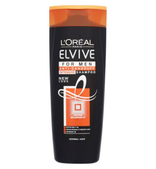 L'Oreal Elvive Men Anti Dandruff Normal Hair Shampoo 400ml