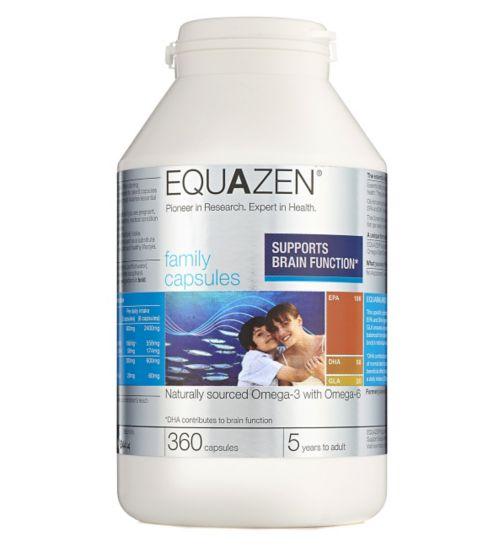 Equazen Family Capsules - 360 capsules