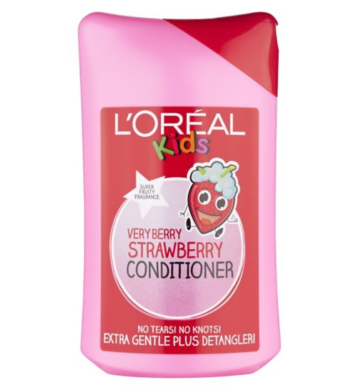 L'Oréal Kids Extra Gentle Very Berry Strawberry Conditioner 250ml