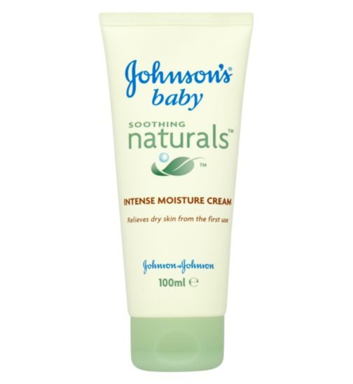 Johnson's Baby Soothing Naturals Intense Moisture Cream - 100ml