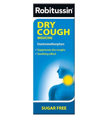 Robitussin Dry Cough Medicine 100ml