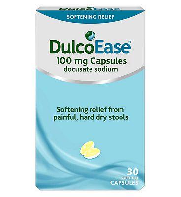 DulcoEase Soft Gel 100mg - 30 Capsules