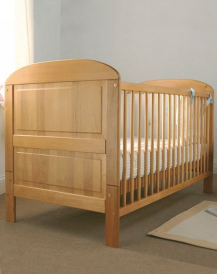 East Coast Angelina Cot Bed  - Antique Finish
