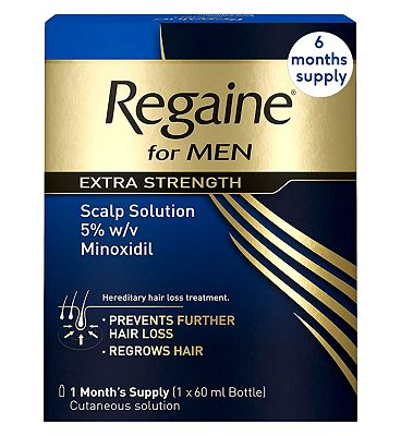 Regaine For Men Extra Strength - 6 Months Supply