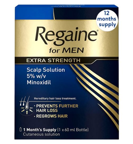 Regaine For Men Extra Strength - 12 Months' Supply