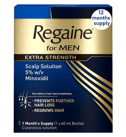 <p>Regaine For Men Extra Strength&nbsp; - 12 Months' Supply</p>