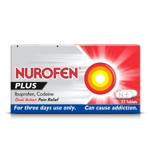 Nurofen Plus - 32 Tablets