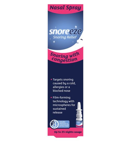 Snoreeze Snoring Relief Nasal Spray 10ml
