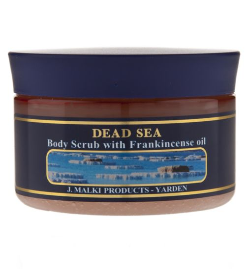 Dead Sea Body Scrub with Frankincense Oil 300ml