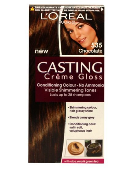 Chocolate Hair Dye Boots