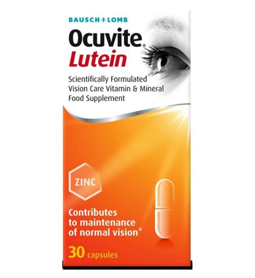 Bausch and Lomb Ocuvite® Lutein - 30 Capsules