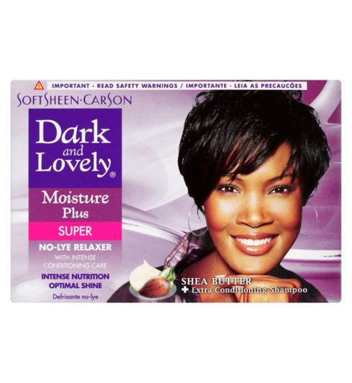 Dark & Lovely Moisture Plus No Lye Relaxer Super