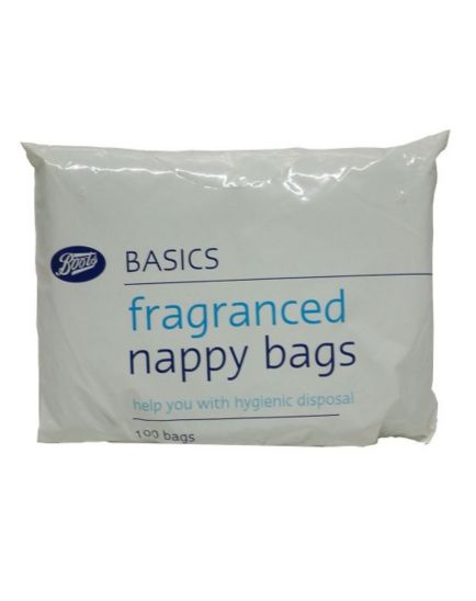 Boots Fragranced Nappy Bags - 1 x 100 Pack
