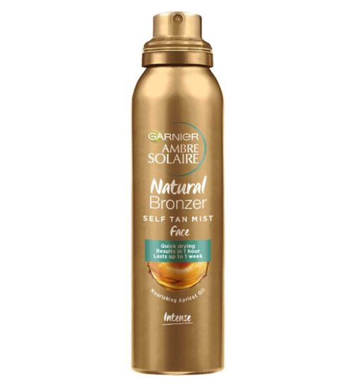 Ambre Solaire No Streaks Bronzer Intense Self Tan Face Mist 75ml