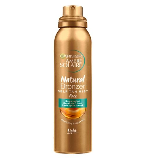 Ambre Solaire No Streaks Bronzer Light Self Tan Face Mist 75ml