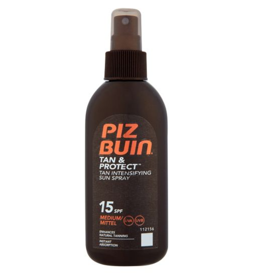 Piz Buin Tan & Protect Intensifying Sun Spray SPF 15 150ml