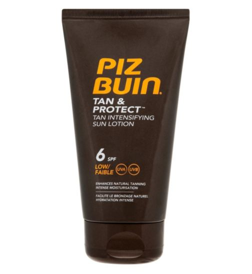 Piz Buin Tan & Protect Intensifying Sun Lotion SPF 6 150ml