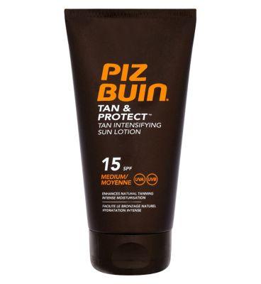 piz buin sunscreen